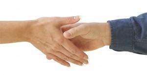 Photo-handshake